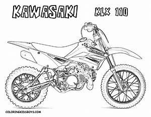 nos jeux de coloriage motocross a imprimer gratuit With bbr pit bike hondas