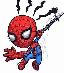Chibi Spiderman by artildawn on DeviantArt