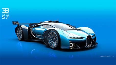 bugatti concept car type 57 gt a bugatti vision gt even more extreme