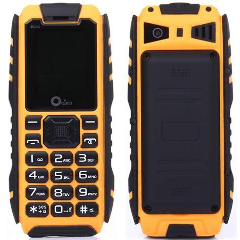ip67 mobile ip67 rugged waterproof phone power bank dual sim card