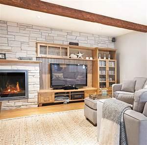 10 idees pour rendre son sous sol plus lumineux trucs et With idee couleur mur salon 9 personnalisez votre salon avec le meuble tv industriel