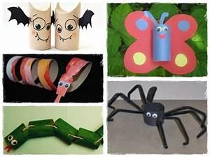 Bricolage Facile En Papier : 60 bricolages avec des rouleaux de papier toilette la ~ Mglfilm.com Idées de Décoration