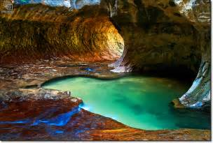 Emerald Pool Zion National Park Utah