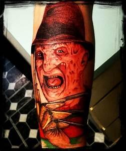Horror freddy krueger tattoo design - Tattoos Book - 65 ...