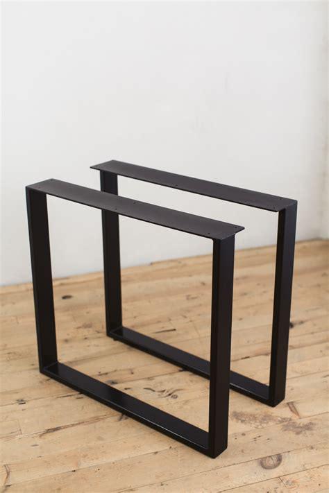 metal table l shades u shape black steel dining table legs modern diy overall