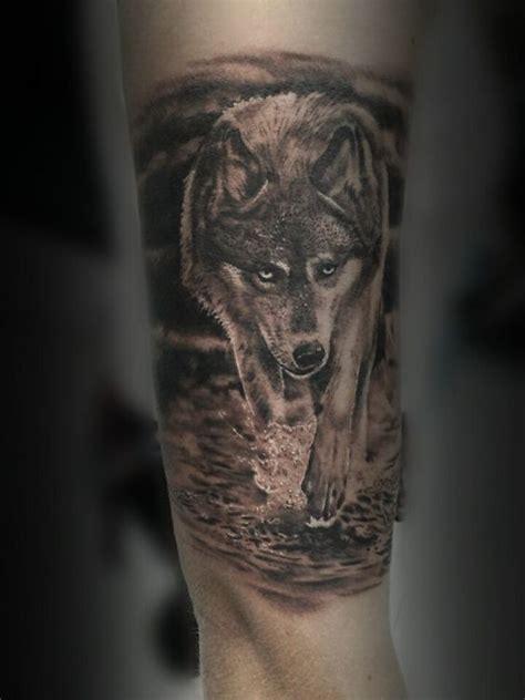 Tatouage Homme Avant Bras Loup
