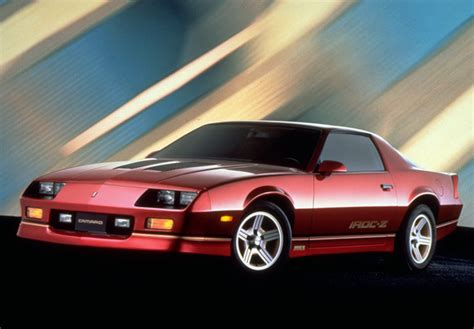Chevrolet Camaro Z28 Iroc-z 1985–90 Photos