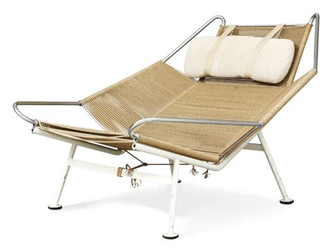 Flag Halyard Chair Original by Hans Wegner Mdba