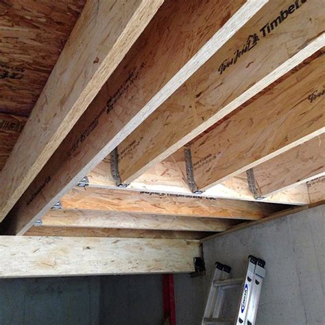 floor joist blocking requirements meeting new code requirements with timberstrand 174 lsl floor