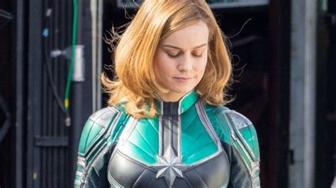 brie larson captain marvel powers captain marvel may actually make first mcu appearance in