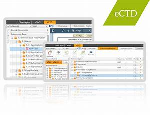 ectd publishing software and services clireo ectd With ectd templates