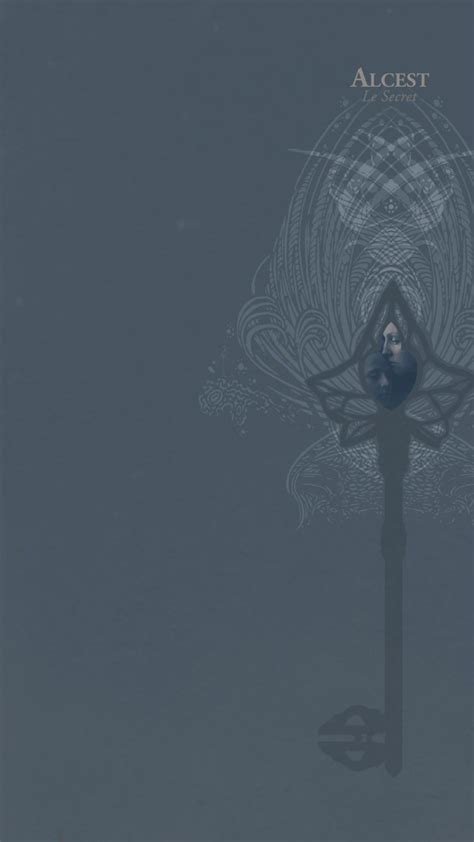 Hd Wallpaper For Mobile Back Cover by Album Covers Black Metal Shoegaze Alcest Post Metal