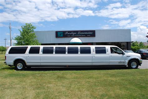Stretch Limo by Used 2005 Ford Excursion Stretch Limo 22 Passenger For