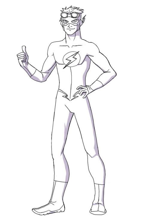 Get This Flash Coloring Pages Free Printable Fyo115