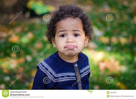 Beautiful Kid Making Faces Stock Image Image Of Child