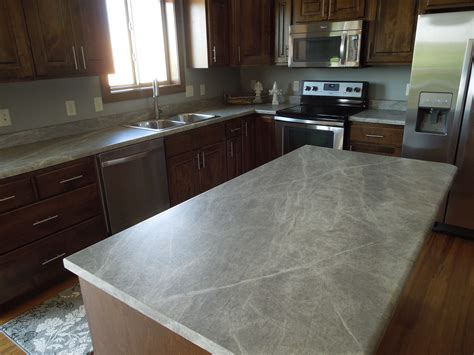 Soapstone Island Countertop by Formica 180fx Soapstone Sequoia Kitchen Island And