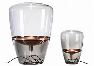 Lampe A Poser Cuivre : les luminaires en verre joli place ~ Teatrodelosmanantiales.com Idées de Décoration