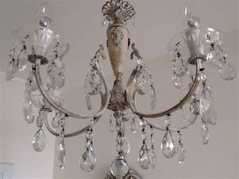 vintage shabby chic chandelier shabby chic vintage repurposed chandelier for bathroom mediterranean other metro by milan
