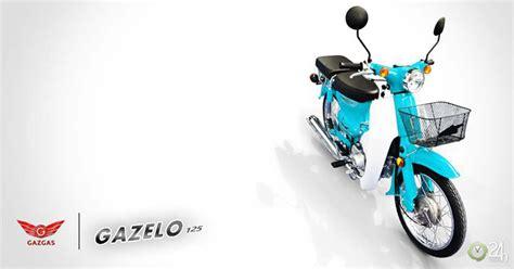 Gazgas Gazelo 125 Image by Gazgas Gazelo 125 đẹp Tựa Honda Cub C125 Gi 225 Rẻ Hơn
