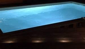 Eclairage Piscine Bois : eclairage plage piscine volumes great wonderful ~ Edinachiropracticcenter.com Idées de Décoration