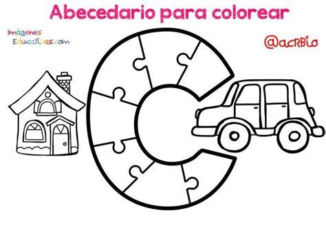 Abecedario para colorear (3 Abecedario Imagenes