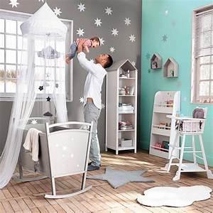 deco chambre bebe theme nuage visuel 7 With theme deco chambre bebe