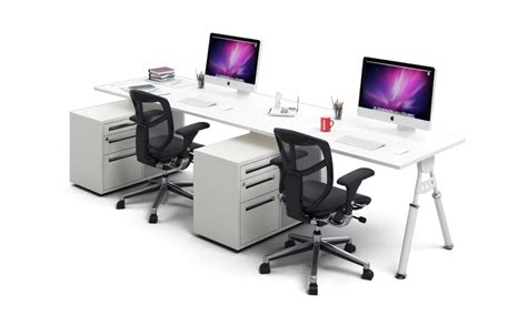 nexera two person desk 2 person workstation desk home furniture design
