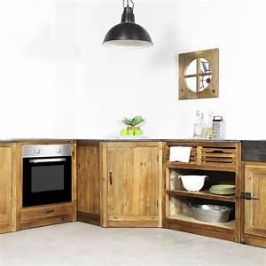 Meuble Cuisine Campagne : conseils d co pour am nager une cuisine style campagne le blog d co de made in meubles ~ Teatrodelosmanantiales.com Idées de Décoration