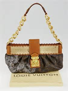 louis vuitton limited edition silver monogram dentelle