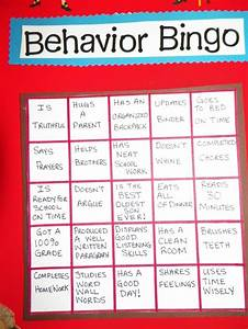 My 8 Year Old 39 S Quot Behavior Chart Quot Each Space Is Worth 5