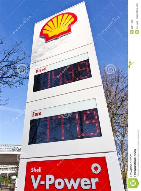 gas price totem editorial photo image