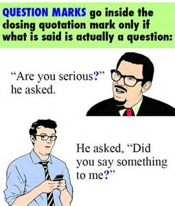 Quotation Marks Go Before or After Period