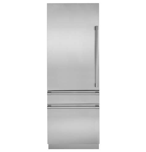 monogram zicgnhii monogram  integrated customizable refrigerator  single  dual