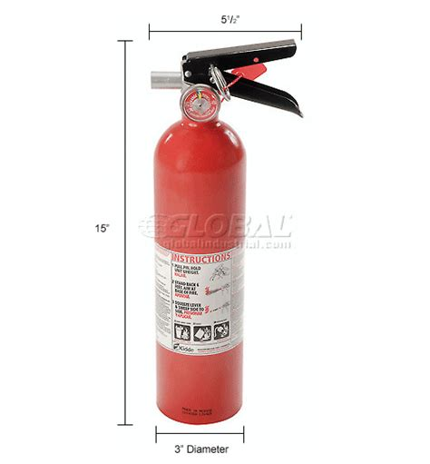 fire extinguisher mounting height