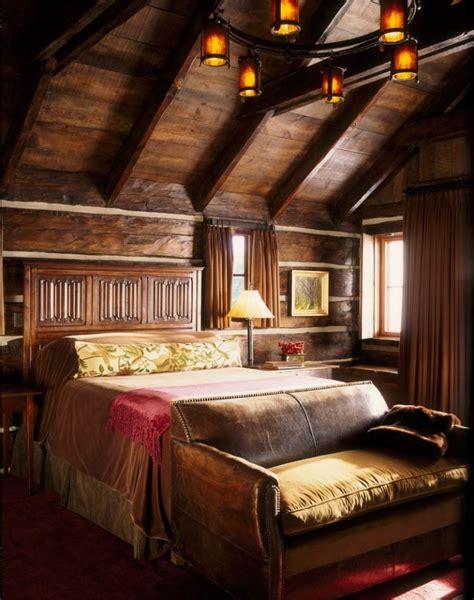 style chambre coucher 26 idées déco chambre à coucher de style rustique