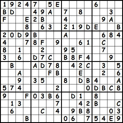 Click on the level you want to make to access the corresponding puzzles. Sudoku 16x16 | New Calendar Template Site