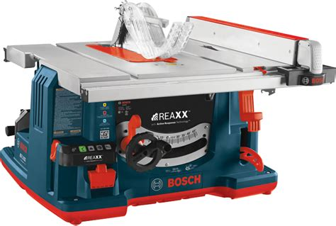 sawstop table saw for sale gts1041a 10 in reaxx jobsite table saw bosch power tools