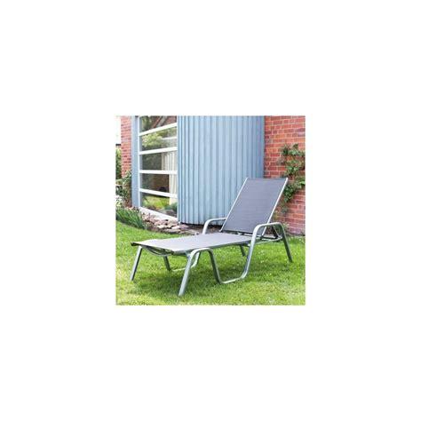 castorama chaise longue transat lounge batyline carbon