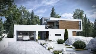 Luxury Modern American House Exterior Design Modern House