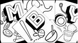 Coloring Printable Alphabet Oatmeal Learning Learningmomma Objects sketch template