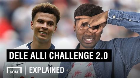 How To Do The Dele Alli Challenge 20 Youtube