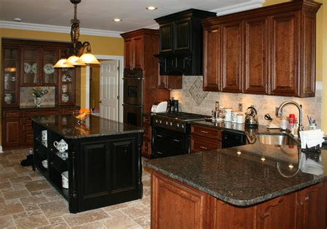 kitchen floors with cherry cabinets country kitchen backsplash contemporary audreycouture 8095