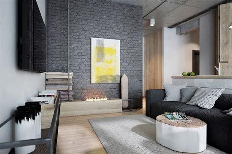 painted brick interior design ideas