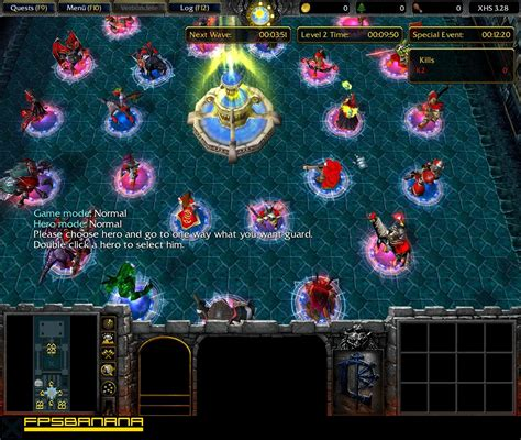 x siege 3 28 warcraft iii the frozen throne maps