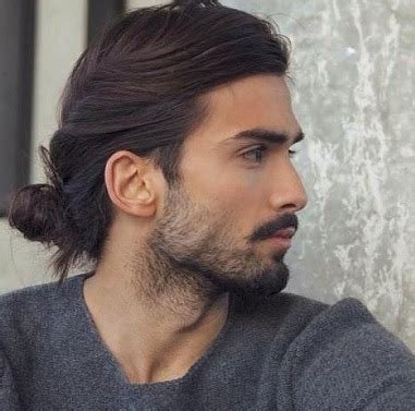 model potongan rambut pria panjang terbaru  rini
