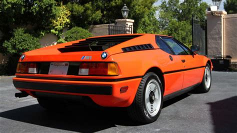 bmw s forgotten mid engine supercar for sale ebay