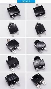 Single Pole Auto Circuit Breaker Thermal Overload Switch