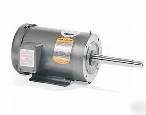 Baldor 2 Hp 3 Phase Electric Motor Jpm3558t