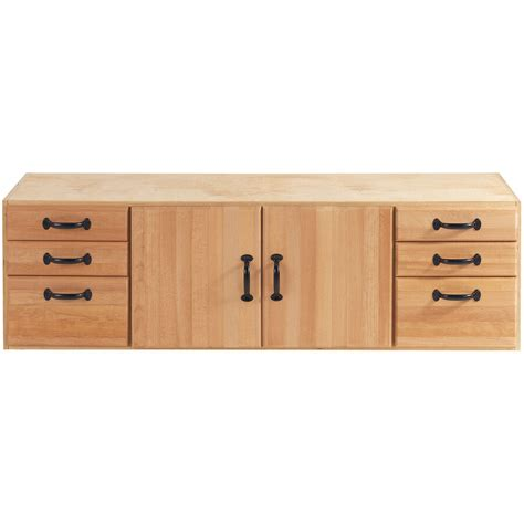 Bench Cabinet Storage by Heavy Duty 6 Drawer Wood Work Bench Woodworking Tools