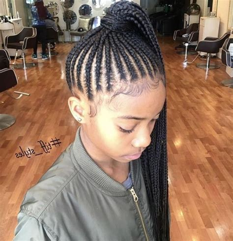 Kids With Weave Braiding Hairstyles View